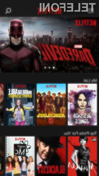 Netflix prijaznejši do vseh uporabnikov mobilnega interneta!