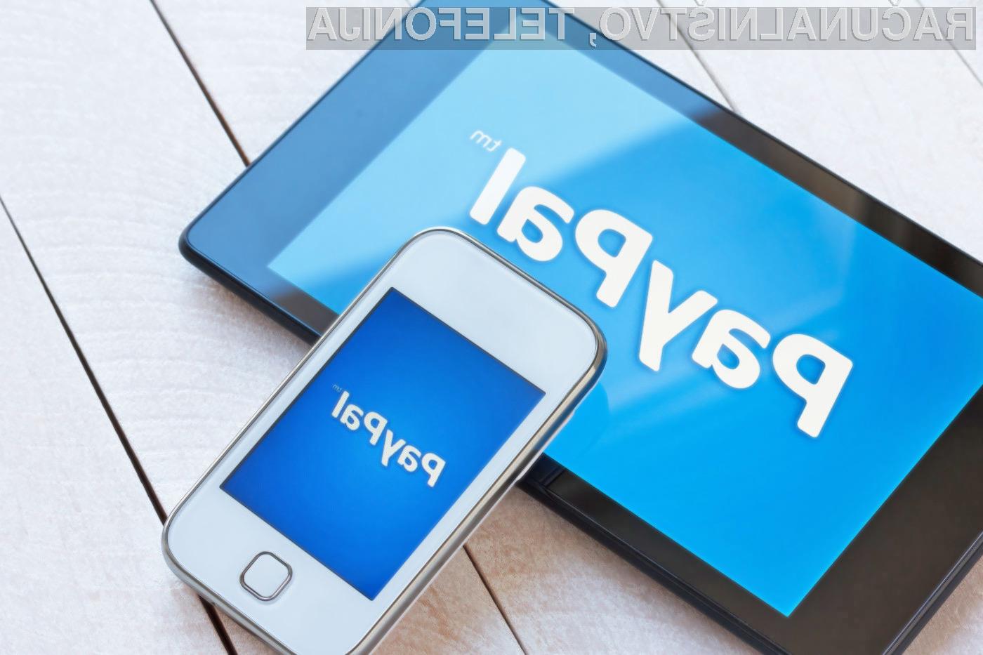 PayPal odpisal Windows Phone, BlackBerry in Amazon