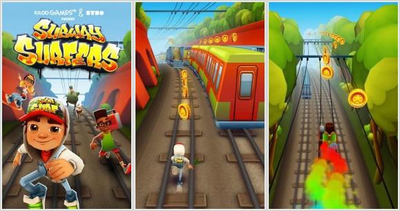 Mobilna igra Subway Surfers si je prislužila naziv najbolj priljubljene igre za Android!