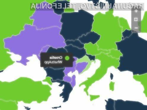 Izsledki raziskave analitske hiše SimilarWeb so pokazali, da Slovenci nadvse obožujemo mobilno aplikacija Facebook Messenger.