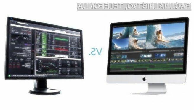 Osebni računalniki Windows boljši od Applovih!