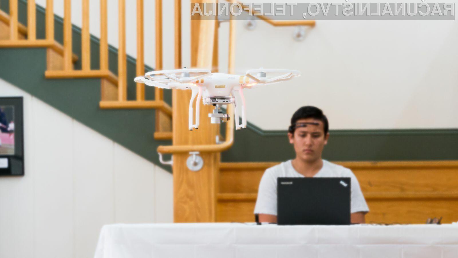 Prva dirka brezpilotna letala, ki se upravljajo z mislimi!