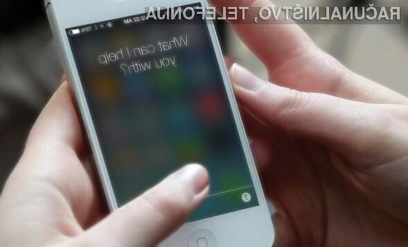 Digitalna asistentka Apple Siri ima štete dneve!