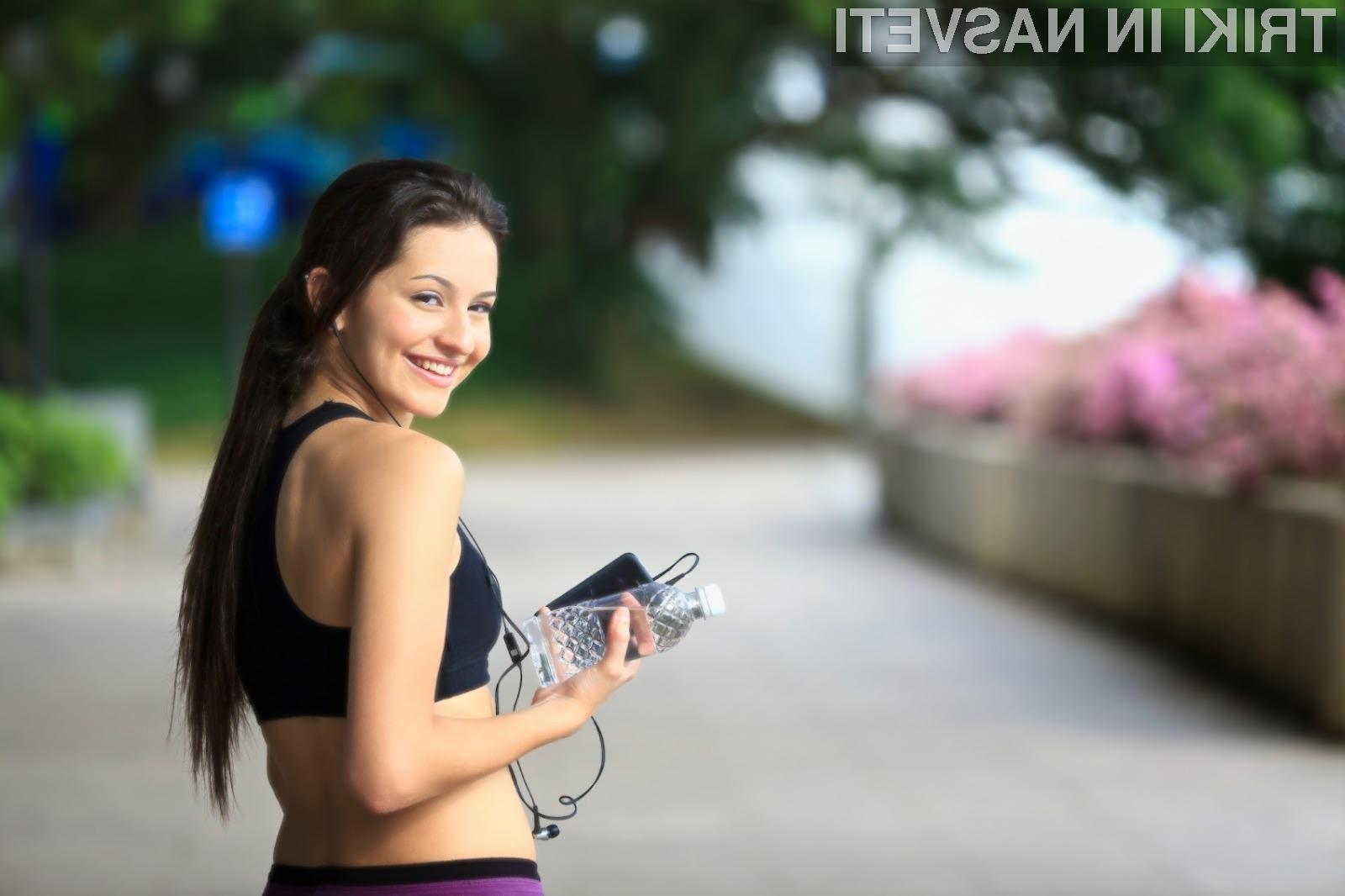 Fitnes aplikacije nas bodo neprestano spodbujale pri telesni dejavnosti.