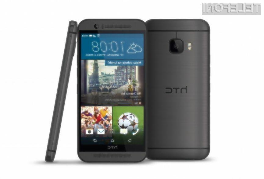 Pametni mobilni telefon HTC One M9 Prime Camera Edition bo pisan na kožo ljubiteljem fotografije!