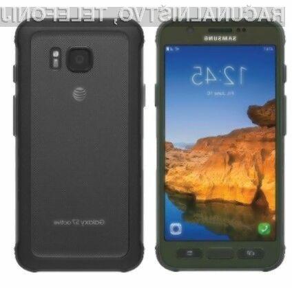 Mobilni telefon Samsung Galaxy S7 Active naj bi zlahka prepričal aktivne.