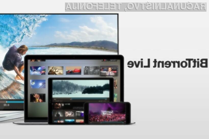 BitTorrent Live je pisan na kožo učinkovitemu deljenju in pretočnemu predvajanju videoposnetkov.