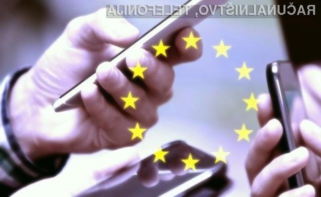 Mobilna telefonija znotraj meja Evropske unije je postala cenejša!