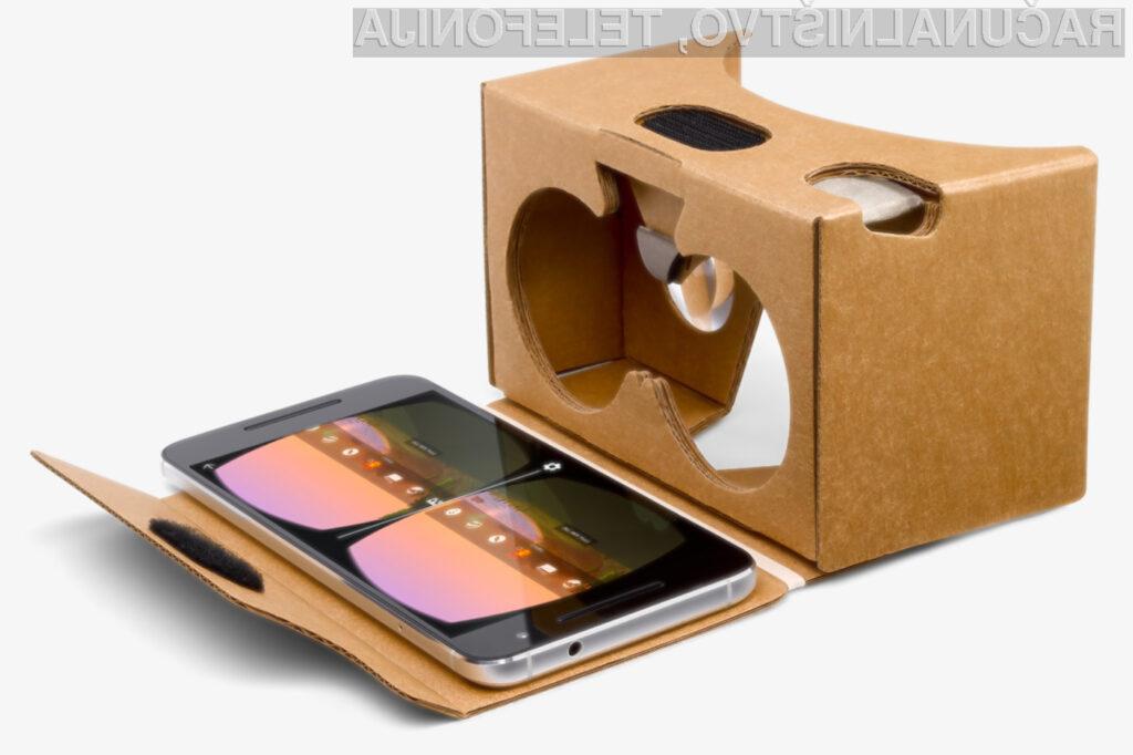 Uporabniki mobilnih telefonov Android naravnost obožujejo Google Cardboard.