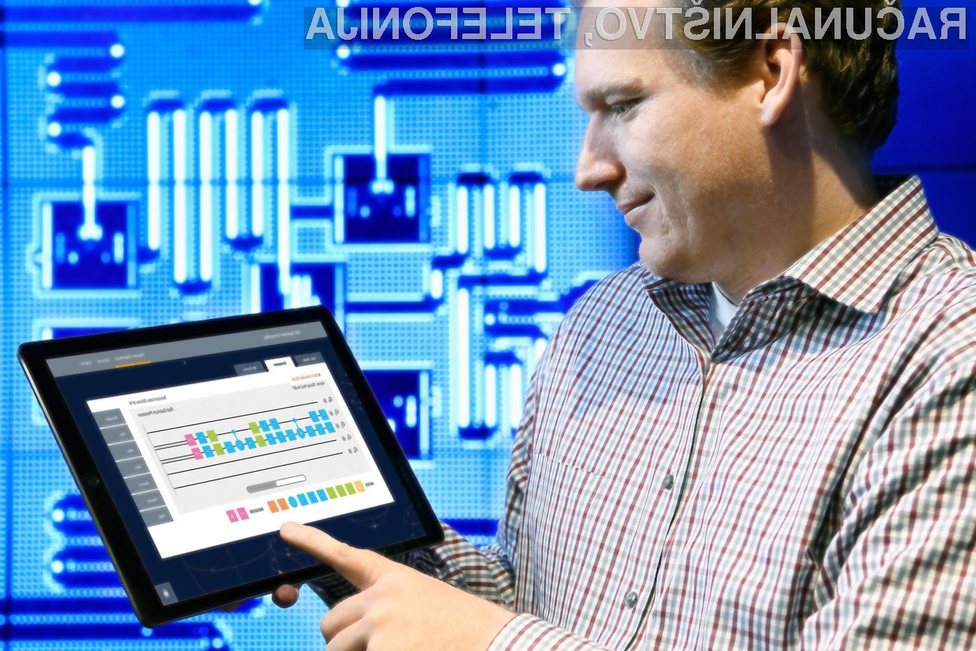 Podjetje IBM je prvo, ki je kvantno računalništvo ponudilo kot oblačno storitev.