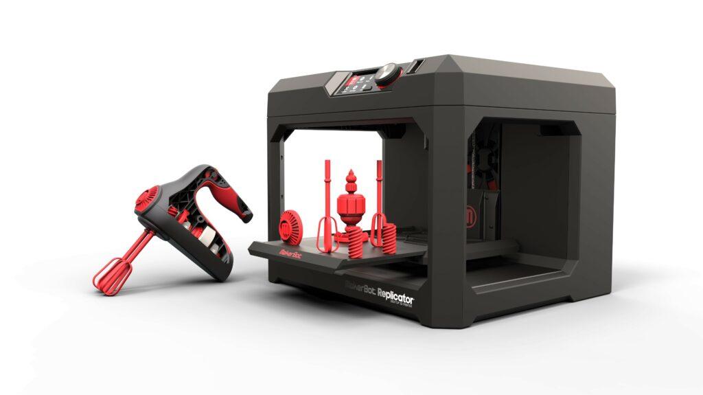 3D printer prejme ...