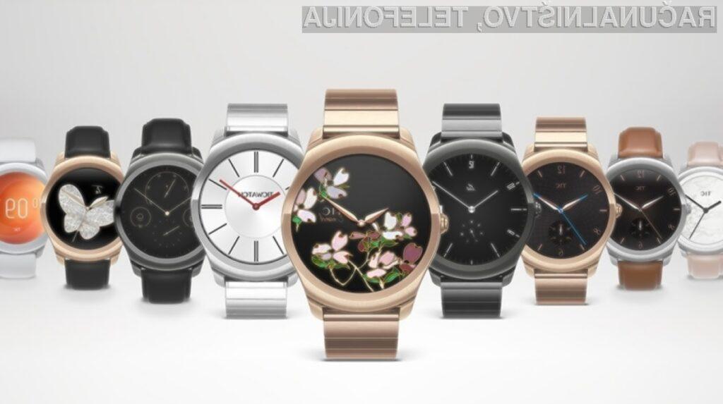 Ticwatch 2: Novost v seriji elegantnih pametnih ur
