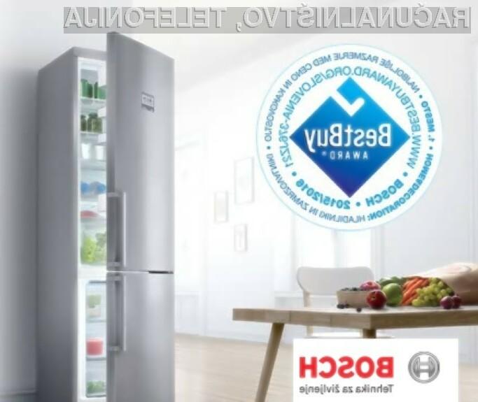 Tehnološko napredni hladilniki Bosch