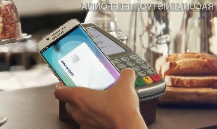 Samsung Pay je trenutno v Evropi mogoče uporabljati le v Španiji.