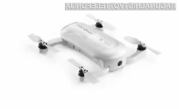 Kompaktni dron Zerotech Dobby lahko naokrog prenašamo kar v žepu.