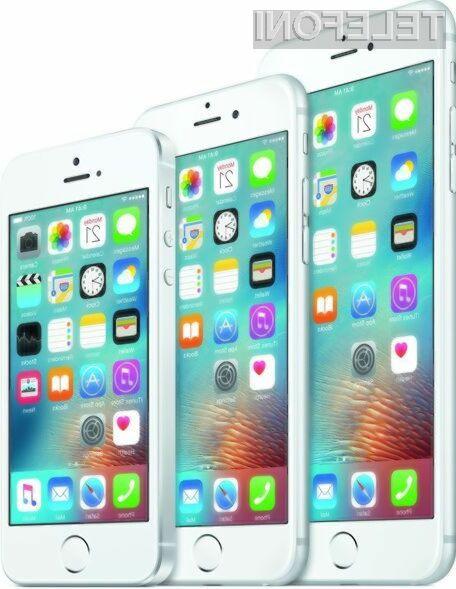 Oblika pametnega mobilnega telefona iPhone se od leta 2014 praktično ni spremenila.