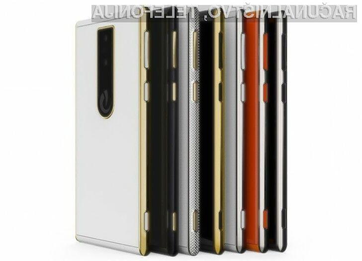Pametni mobilni telefon Lumigon T3 omogoča fotografiranje v popolni temi.