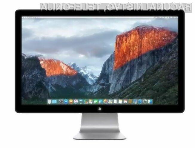 Apple trenutno še nima naslednika zaslona Thunderbolt Display.