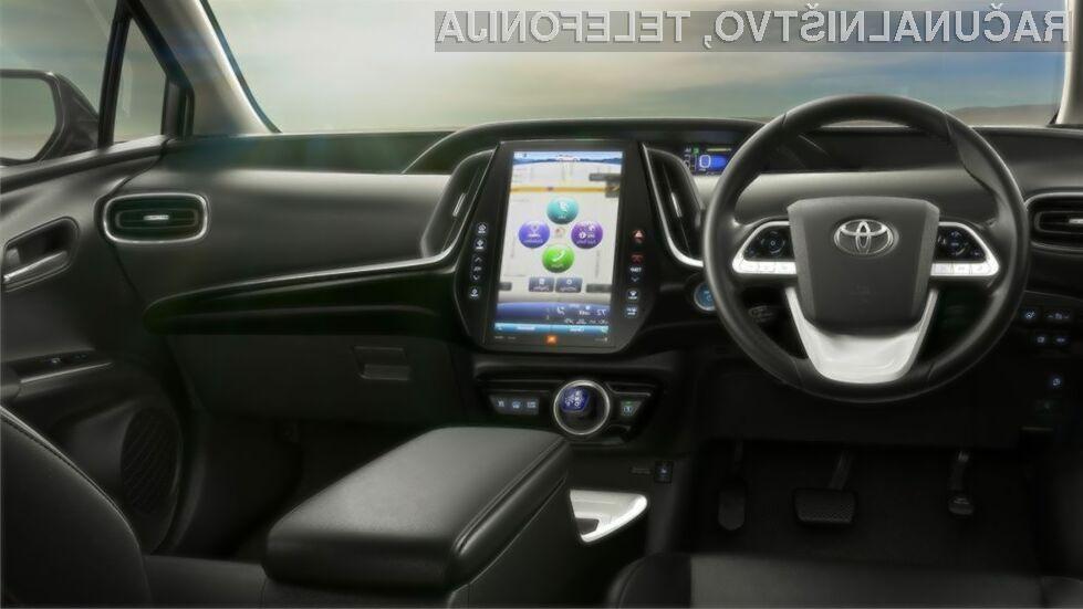 Toyota na področju avtomobilizma stavi na platformo za povezovanje vozil širom sveta preko mobilnega omrežja.