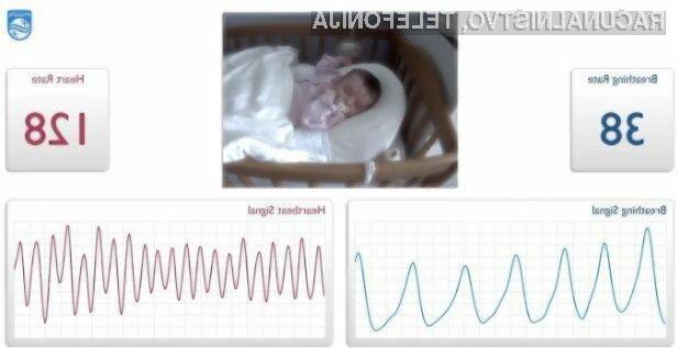 Philips bo z novo tehnologijo močno poenostavil spremljanje vitalnih funkcij novorojenčkov in bolnikov.