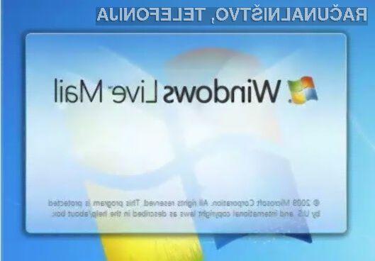 Microsoft Windows Live Mail se bo poslovil konec junija.