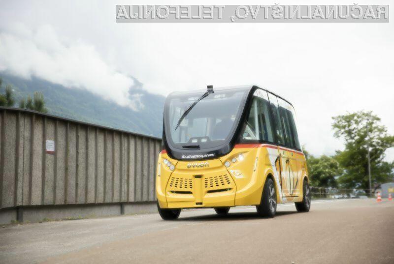 Na švicarskih cestah prvi avtonomni avtobusi
