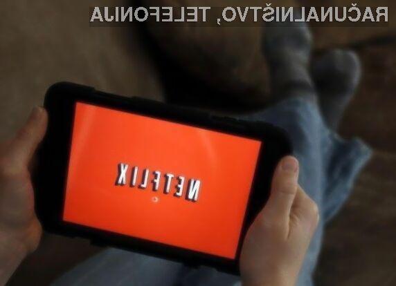 Videoposnetke Netflix bi lahko kmalu lahko predvajali tudi brez dostopa do svetovnega spleta.