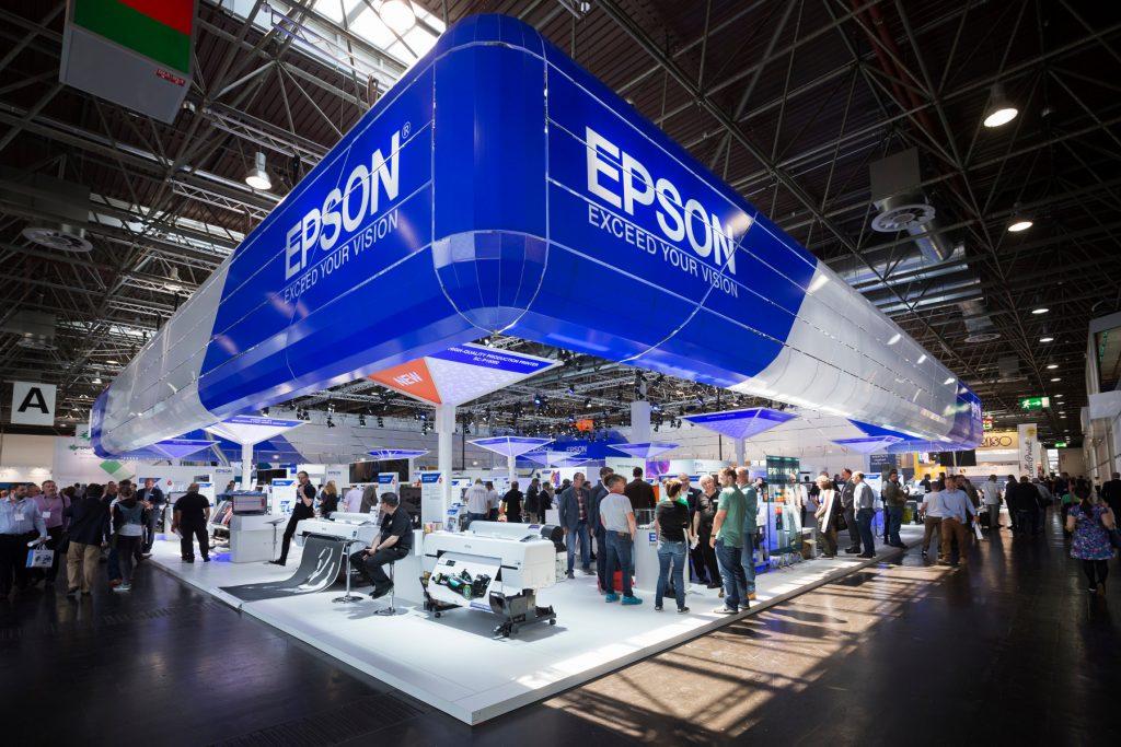 Epson po uspešnem nastopu na sejmu drupa že povečal proizvodnjo, da bi zadostil visokemu povpraševanju