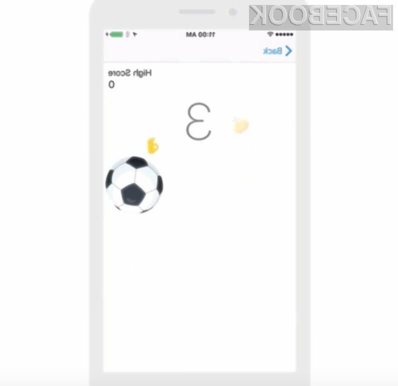 Nova skrivna igra na Facebooku - tokrat nogomet