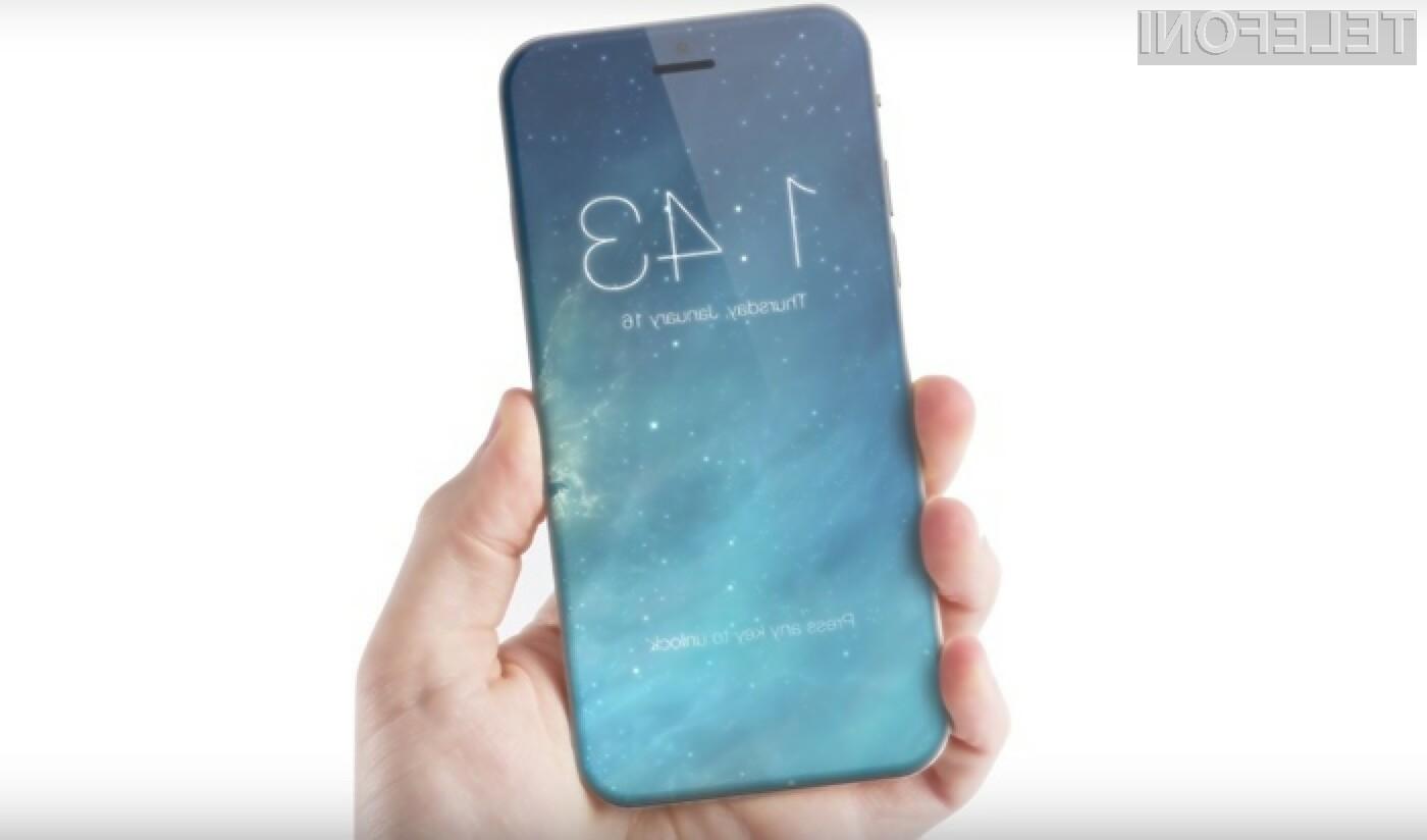 Pametni mobilni telefon iPhone 7 bo luč sveta ugledal že septembra letos.