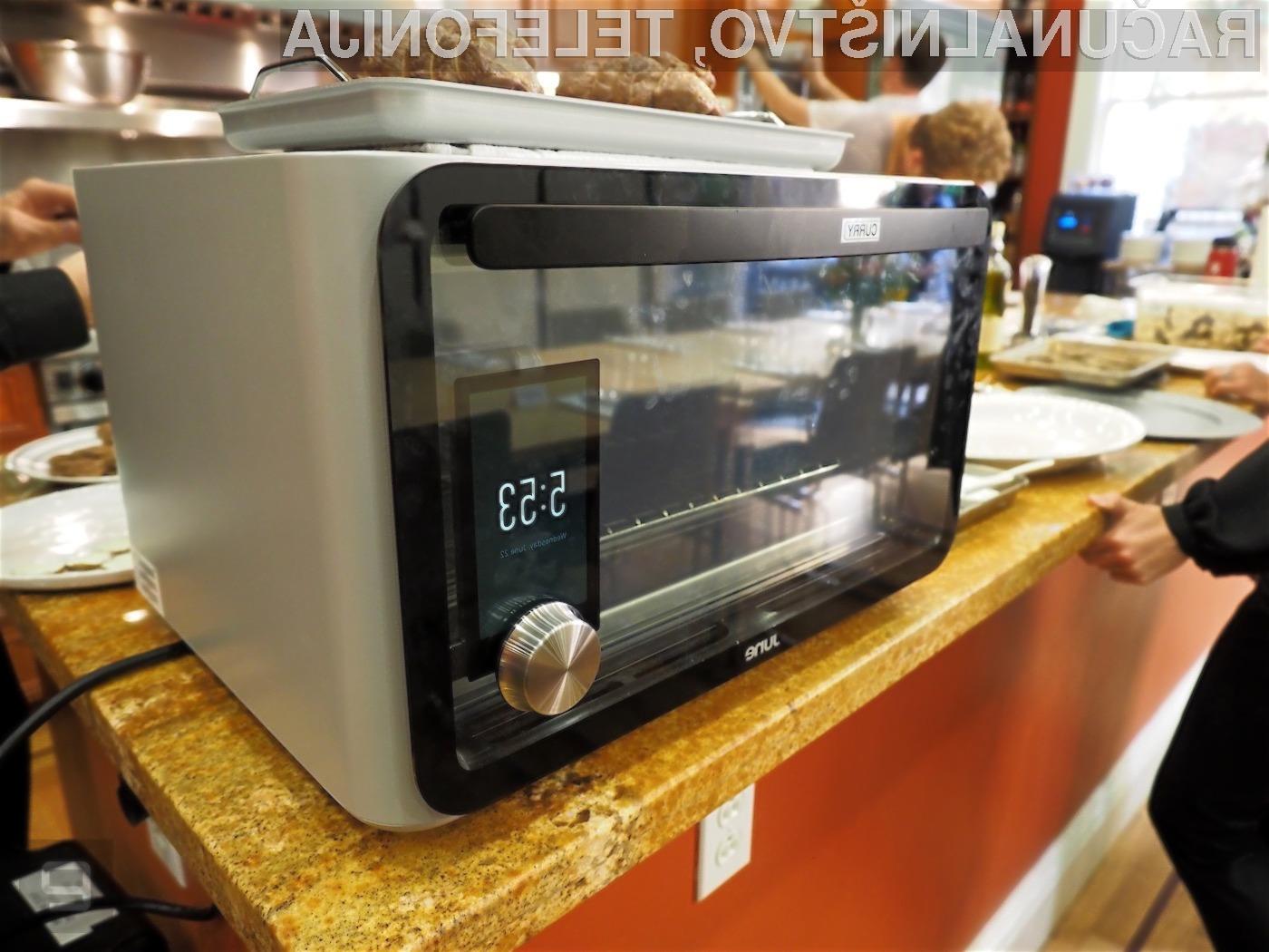 Glavna prednost novodobne pečice June Intelligent Oven je v njeni enostavnosti uporabe.