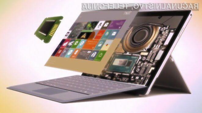 Tablični računalnik Microsoft Surface Pro 5 bo zlahka prepričal tudi najzahtevnejše uporabnike.