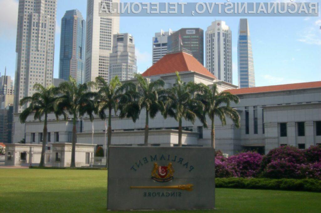 Singapurska javna uprava bo prihodnje leto ostala brez interneta.
