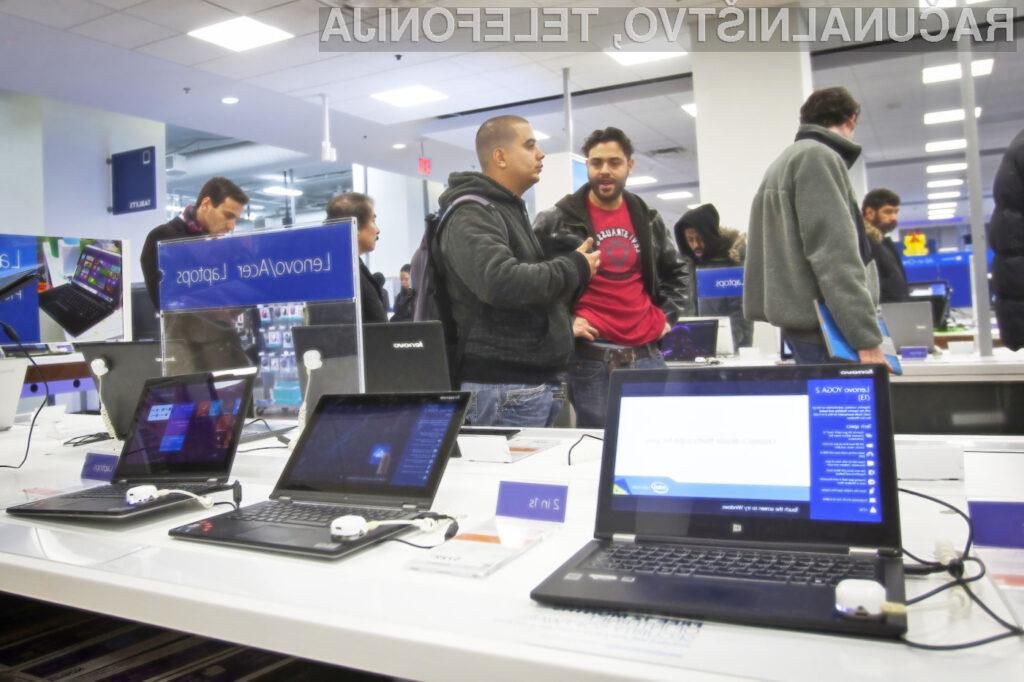 Nevarna ranljivost je prisotna v programski opremi številnih proizvajalcev osebnih računalnikov.