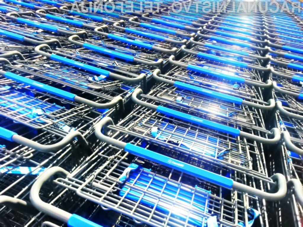 V trgovine prihajajo robotski nakupovalni vozički?