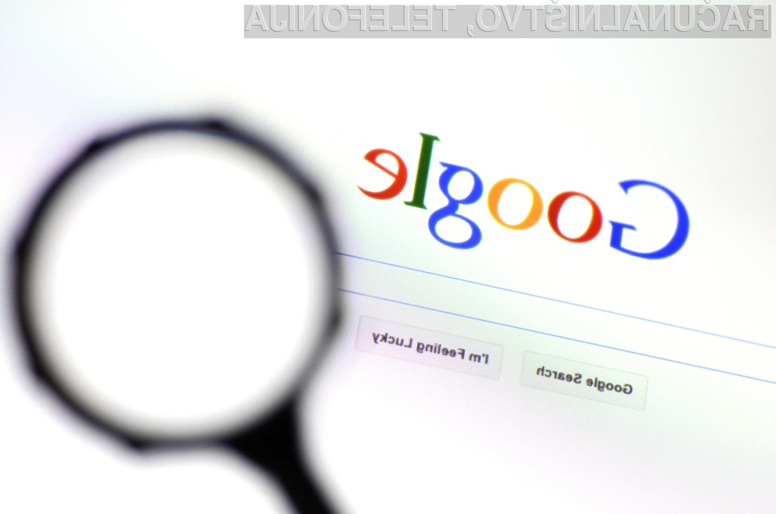 Google nam bo spletne oglase prilagodil glede na naše želje in potrebe.