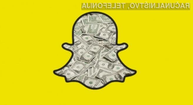 Storitev Snapchat naj bi se kmalu spremenila v oglaševalsko platformo.