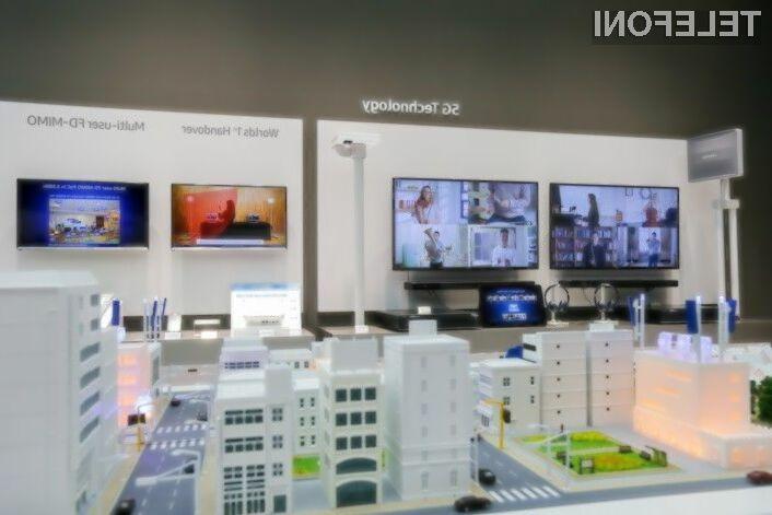 Samsung ima s tehnologijo 5G/LTE zelo velike načrte.
