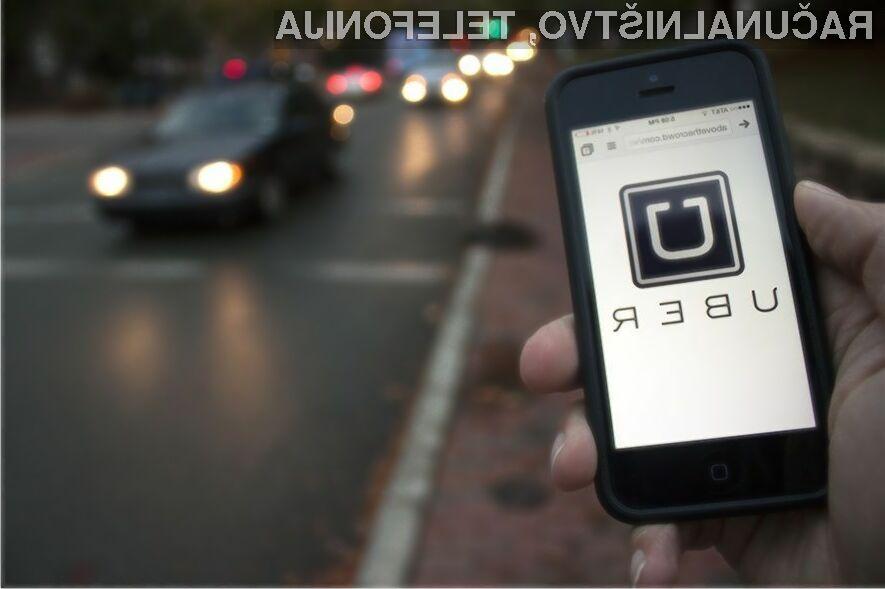 Roparju se beg z avtomobilom naročenim preko aplikacije Uber ni ravno izšel po načrtih.