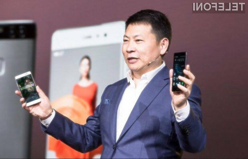 Huawei želi v naslednjih nekaj letih prevzeti lovoriko vodilnega proizvajalca pametnih mobilnih telefonov.