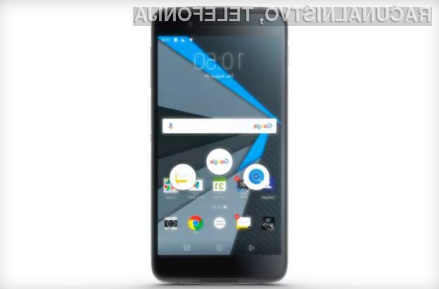 BlackBerry DTEK50 je najboljši pametni mobilni telefon za tiste, ki stavijo na varnost!