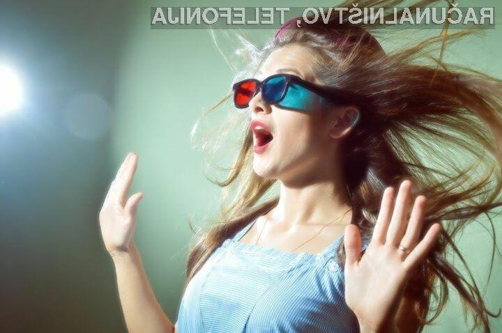 Za gledanje 3D filmov 3D očala kmalu ne bodo več potrebna!