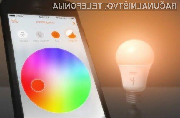 Hekerji lahko preko ranljive pametne žarnice pridobijo dostop do brezžičnega omrežja.
