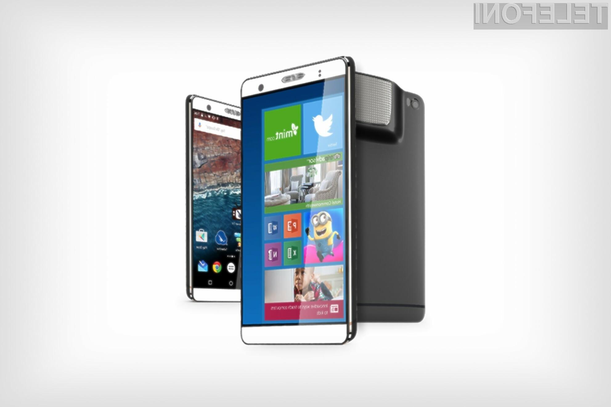 Zakaj bi pri telefonu izbirali med Androidom in Windowsi 10, če lahko imamo kar oba?