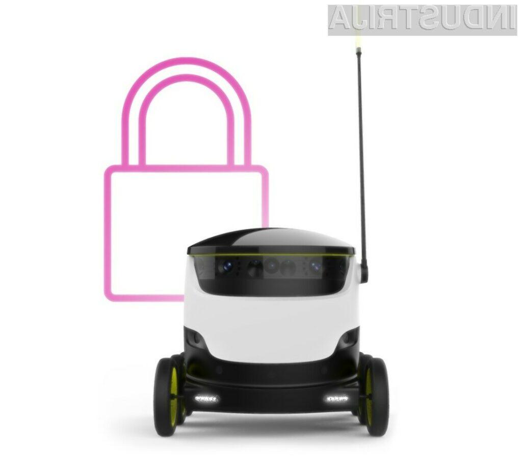Spoznajte avtonomnega robota - novega dostavljalca pic