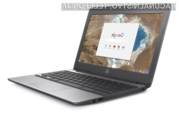 Prenosnik HP Chromebook 11 G5 se vam bo zagotovo takoj prikupil!