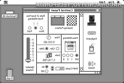 Kaj se zgodi, ko 25 let star računalnik Mac »vstaviš« v spletno stran?