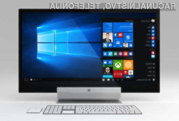 Osebni računalniki vse-v-enem Microsoft Surface naj bi se zlahka kosali z že uveljavljenimi računalniki iMac podjetja Apple.