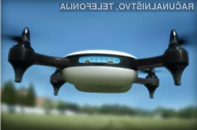 Spoznajte dron, ki lahko doseže 130 kilometrov na uro!
