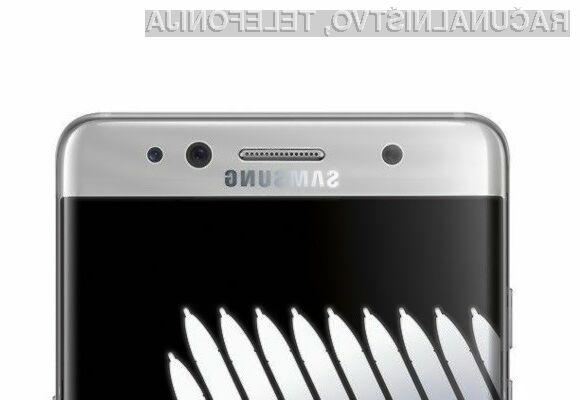 Pametni mobilni telefon Samsung Galaxy Note 7 naj bi kmalu postal še boljši!